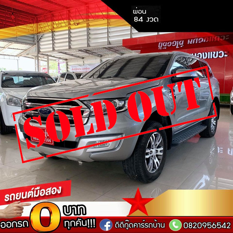 New Ford Everest 2.2 AT ปี 2016 รถมือสอง